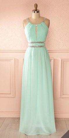 Chiffon Prom Dress,Cheap Prom Dress