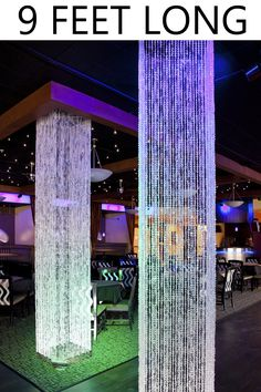 We specialize in wedding and event decor for large and small venues. Our Square Crystal Iridescent Column is long and ready to hang. The top frame can hold a light source and floral Decor. Hanging Beads, Hanging Crystals, Shop Wild Things, Wedding Columns, Square Columns, Curtain Lights, Beaded Curtains, Round Design, Ceiling Decor