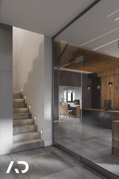📨  biuro@amadeusz.design 📞 +48 609 999 467   #amadeusz #design #amadeusz #design #amadeuszdesign #domart #architektwnetrz #projektowaniewnetrz  #architekturawnetrz #dobrzemieszkaj #interior #interiordesign #aranzacjawnetrz #domoweinspiracje #architecture #wystrój #wnętrz #homedecor #home #decor #beauty Stairs, Industrial, Studio, House, Home Decor, Design, Stairway, Decoration Home, Staircases