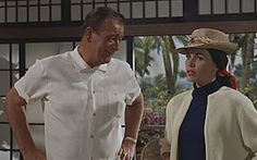 An old movie I worshipped as a kid - Donavan's Reef (1963). The Duke was never Dukier.