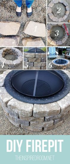 Diy Crafts Ideas : How to Make Your Own Firepit in 15 Minutes