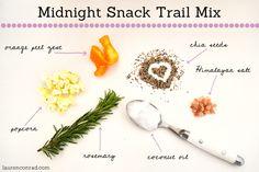 Midnight Snack Trail Mix Recipe
