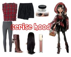 """""""Cerise Hood Closet Cosplay"""" by thecrystalheart on Polyvore featuring Ermanno Scervino, Madewell, Chloé and Clarins"""