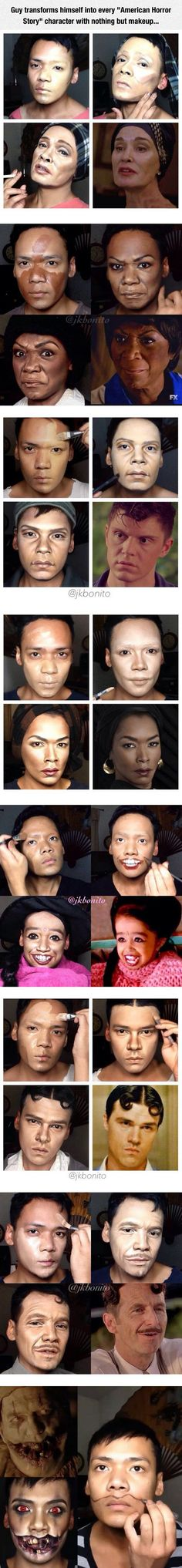 He Is A Real Make Up Artist