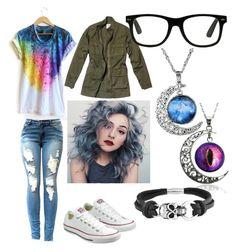 """""""Untitled #11"""" by darkcreator ❤ liked on Polyvore featuring Converse, Nili Lotan and Bling Jewelry"""