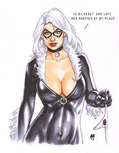 Black Cat by daikkenaurora