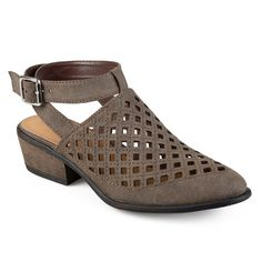 Journee Collection Shilo Women's Wrap Shoes, Size: 7.5, Brown
