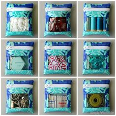 Peek-a-boo Mini Notions Bag Tutorial | SimplyNotable.com