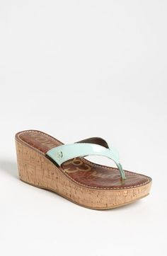 Sam Edelman 'Romy' Wedge Flip Flop available at Nordstrom