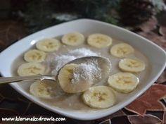 kierunek zdrowie: Jaglanka kokosowo - bananowa na zdrowe śniadanie