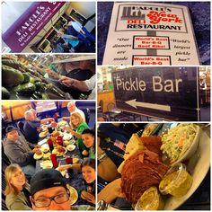 gotta eat...and today we DID. Went out for lunch at Harold's New York Deli Restaurant with Pastor Dan, Pastor Clem & his wife Connie, and Dena. great fun, AMAZING food...HUGE portions. :-) ....oh yeah...and a pickle bar.