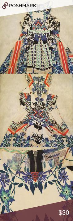 Fun summer dress fits like a Juniors Medium Feel Vibrant and sassy in this gem Dresses Mini