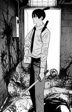 Anime Drawing Styles, Manga Drawing, Manga Art, Manga Samurai, Anime Toon, Black Widow Movie, Japanese Artwork, Man Wallpaper, Gothic Anime