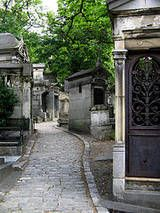 """""""Park"""" describes Pere-Lachaise better than """"cemetery."""" Plan to wander this mini city crowded with the deceased and their buildings for a few hours, as you'll be mesmerized by the artistic and freaky tombs. You may feel the need to see the overrated and underwhelming grave of Jim Morrison (it was cooler pre-barricade), but find Victor Noir instead, as rubbing his bronzed penis brings good luck. You'll feel like a Paris insider if you wait to watch others awkwardly pat his package, too."""
