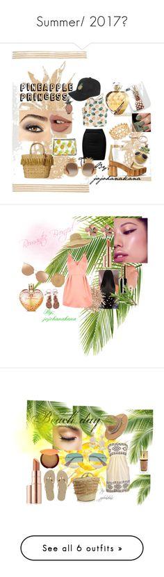 """Summer/ 2017ღ"" by jojohanakana on Polyvore featuring Avon, White Stuff, WithChic, Sans Souci, INC International Concepts, Chanel, Tory Burch, Skinnydip, Elizabeth Arden and Gucci"