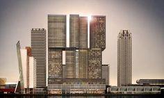"Edifício ""De Rotterdam"" - cidade vertical"