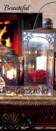 Beautiful Garden Lanterns filled with Inspiration at www.Rum Garden.net