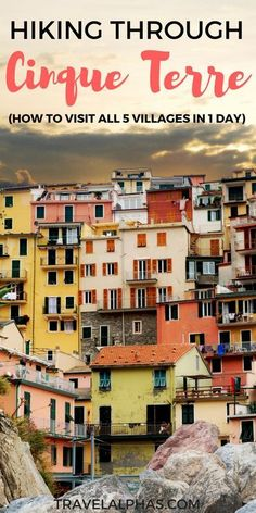 Ready to fuel your Italy travel inspiration? Planning to take a day trip from Florence, Italy? Hiking in Cinque Terre is the perfect choice! Beautiful beaches, colorful houses, hiking trails, and gelato await! And the best part? On this hiking trip, you can visit all five seaside villages in one day.