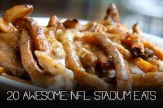 awesome nfl stadium eats great unique football stadium food