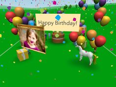 EVERYONE loves singing birthday cards. Imagine how they will LOVE singing VR birthday cards!