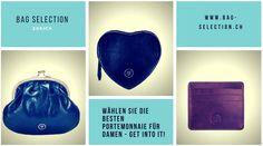 Ein Leder-Portemonnaie ist das Accessoire, das Sie jeden Tag verwenden und sollte daher genauso stilvoll sein wie sein Besitzer. Mit vielen Taschen, Karten- und Reißverschlussfächern sind die Luxus-Damenportemonnaies aus Leder bei Bag Selection Zurich der perfekte Begleiter für Ihre Handtasche. Wir sind sicher, dass Ihre Reisen mit einem dieser handgefertigten Reisetaschen aus Leder viel angenehmer werden. Selection, Coin Purse, Wallet, Purses, Bags, Fashion, Accessories, Luxury, Handmade