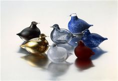 Oiva Toikka -verkkonäyttely Finland, Glass Art, Birds, Ceramics, Animals, Sculpture, Decoration, Photos, Design