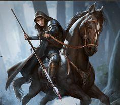 RPG cavalier