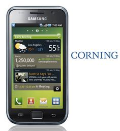 Did you know that Corning glass is working in most smart phones today. The expansion of their developing the Gorilla glass is taking technology to new heights.