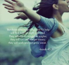 Isaiah 40:31 #bible #verses
