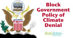 Thank You for Helping Block Government Policy of Climate Denial