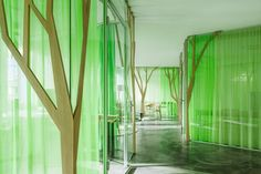 My Money Park by OOS  Posted by Erin on January 23rd, 2013  OOS have designed the interiors of the My Money Park branches in Zurich and Basel