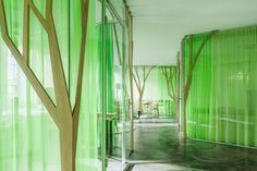 Design Textiles | Referenzprojekt: Baumhaus bei My Money Park