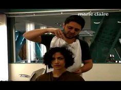 Aprenda a domar os cabelos cacheados - YouTube