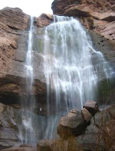 Big Falls (San Bernardino National Forest / Forest Falls, California, USA)