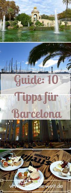 Hier findest du 10 Barcelona Tipps vor allem für Backpacker - vom besten Hostel in der Stadt über kostenlose Touren bis hin zu leckeren Pinchos. Mit diesen 10 Barcelona Tipps wirst du eine tolle Zeit in der Stadt haben!