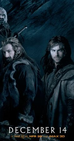 Fili and Kili are 20 years older than their cousin Gimli, but they are all minors in dwarven-terms at the time of the Quest for Erebor. Gimli is not allowed to join the company. Despite technically being too young, Fili and Kili join to serve their uncle, Thorin.