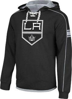 Amazon.com  Los Angeles Kings Reebok NHL Team Jersey Pullover Hooded  Sweatshirt  Clothing 527af3896