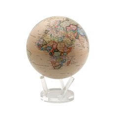 Mova globe. Spins with a liquid magnet.