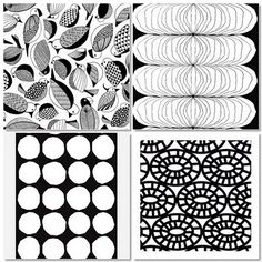 B & W Patterns