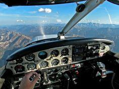 Piper PA-28 Cockpit