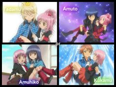 It was so hard to choose at first, but I choose Amuto! :D