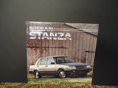 NIssan Stanza.....Vintage Dealership Brochure