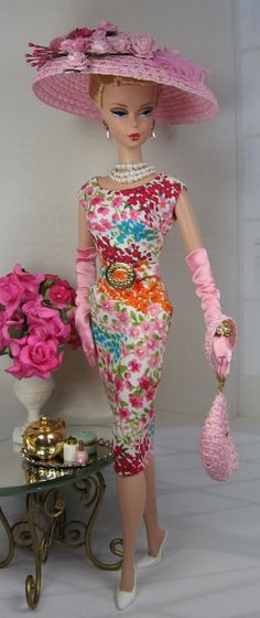 Flora Fancy for Silkstone Barbie and Victoire Roux on Etsy now by Matisse