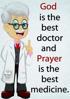Amen, Jesus has been my physician for years. My creator understands all my concerns before I say a word. He suffered those terrible stripes to purchase my healing. Prayer Quotes, Faith Quotes, Bible Quotes, Religious Quotes, Spiritual Quotes, Positive Quotes, Religious Books, Great Quotes, Inspirational Quotes