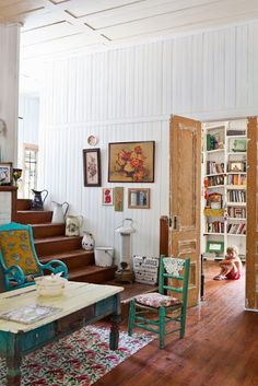 EN MI ESPACIO VITAL: Muebles Recuperados y Decoración Vintage: Una casa para el fin de semana { A house for the weekend }