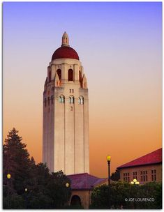 Stanford University Campus Hoover Tower, Stanford, CA