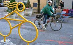 Redesign the Bike Rack : TreeHugger