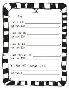 Teaching in Blue Jeans: Counting Down to 100 Days!