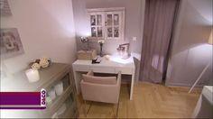 Le salon d'Arlette table blanche