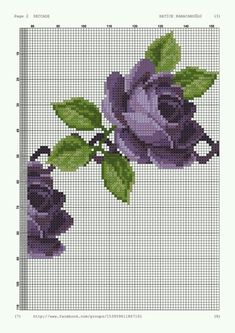 Cross Stitch Flowers, Cross Stitch Patterns, Fair Isle Pattern, Prayer Rug, Cross Stitching, Needlework, Diy And Crafts, Embroidery, Canvas